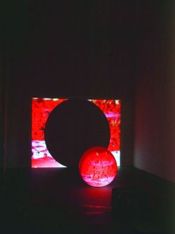 Videoinstallation Renate Guenther; &copy Renate Guenther;